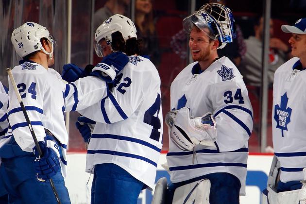 Lupul-Less Leafs Getting Job Done
