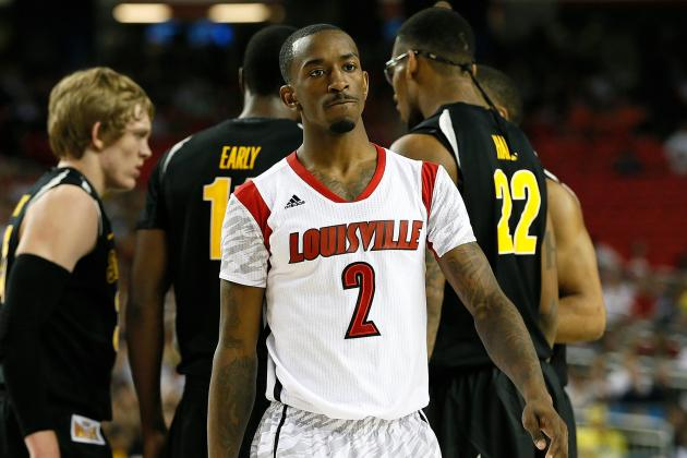 Russ Smith Must Shrug Off Poor Shooting Night For Louisville To Defeat Michigan