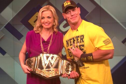 John Cena's Newly Designed WWE Title Belt
