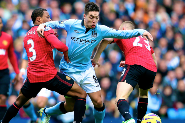 Manchester United 1-2 Manchester City: Premier League as It Happened