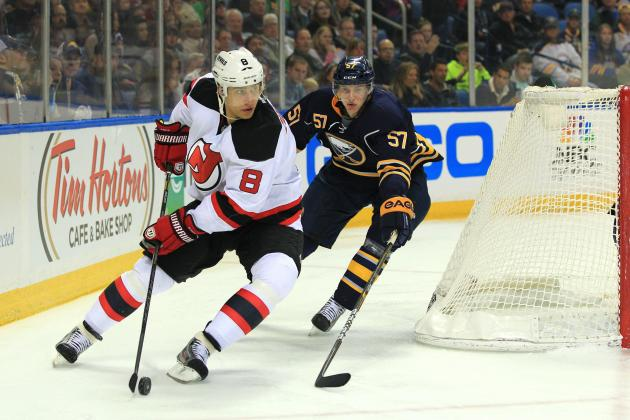 Dainius Zubrus Key to Devils' League-Leading 10th Shorthanded Goal