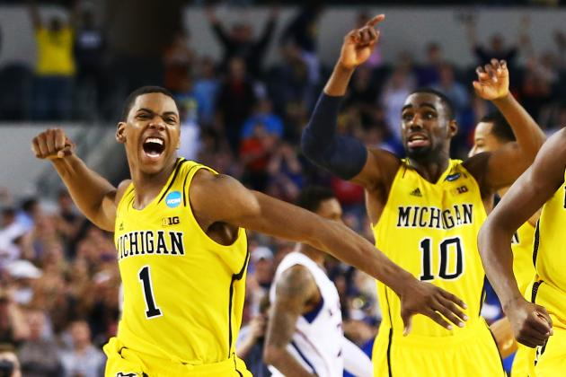 Glenn Robinson III and Tim Hardaway Jr. Must Use Title Game to Boost Draft Stock