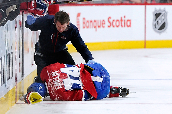 Canadiens' Alexei Emelin Had a Bad Idea, Now He's out for the Year