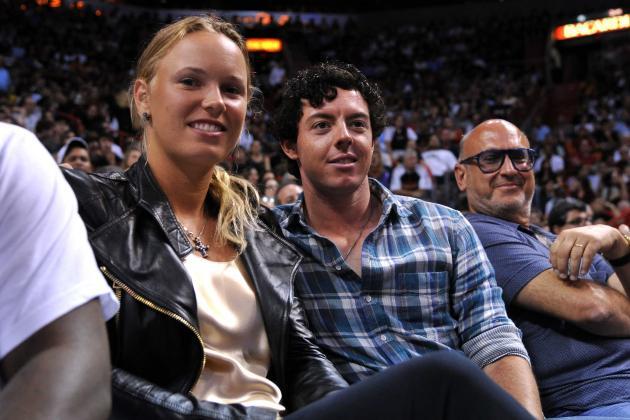 Caroline Wozniacki Will Caddie for Rory McIlroy in Par 3