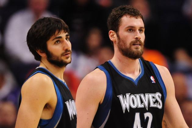 Is Ricky Rubio Better Building Block Than Kevin Love for Minnesota Timberwolves?