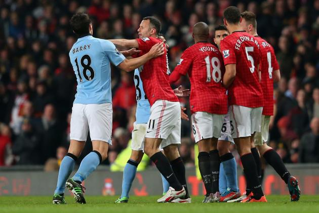 Rating the Manchester United Players in 2-1 Defeat to Manchester City