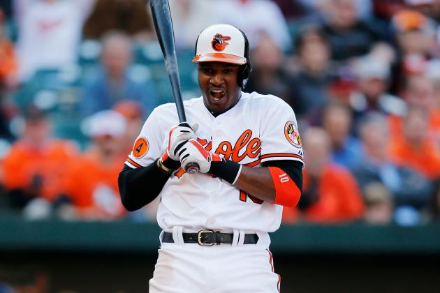 Adam Jones Can't Silence Red Sox Fans -- at Least Not Today