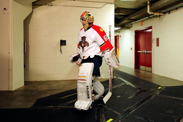 Jose Theodore Practices, Wants to Play for Florida Panthers Before End of Season