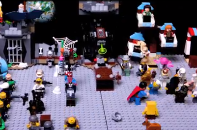 Boris Diaw Produces Lego, Stop-Motion Harlem Shake Video