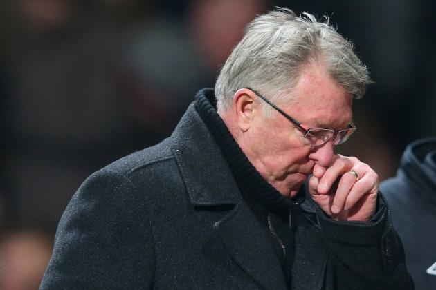Sir Alex Ferguson Felt Manchester United Were Unlucky to Lose to Man City