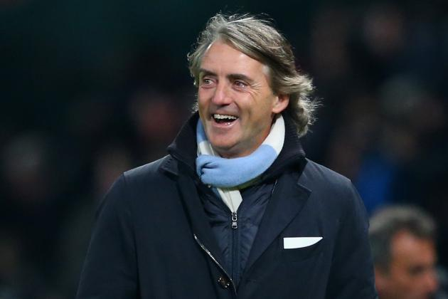 Roberto Mancini Felt Manchester City Deserved a 2-1 Win over Man United