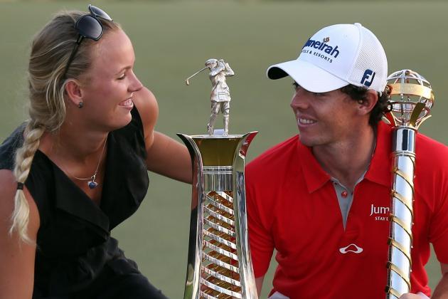 Rory McIlroy's Girlfriend Caroline Wozniacki Will Caddie Masters Par 3 Contest