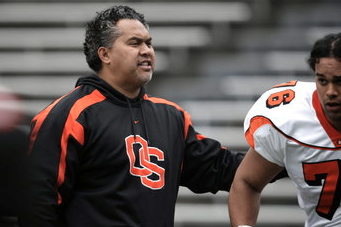 Beavers Work to Get New Defensive Tackles Up to Speed