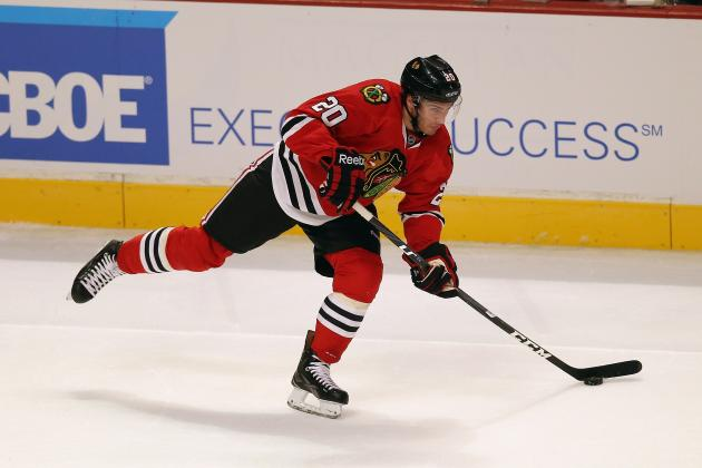Head-to-Toe Breakdown of Chicago Blackhawks LW Brandon Saad