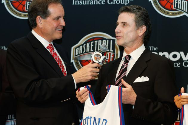 Rick Pitino: Hall of Fame Induction Should Have Come Much Sooner