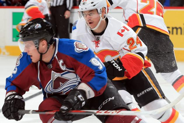 Calgary Flames vs. Colorado Avalanche: GameCast
