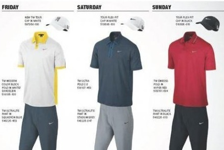 Tiger Woods, Rory McIlroy and Bubba Watson Unveil Masters Wardrobe
