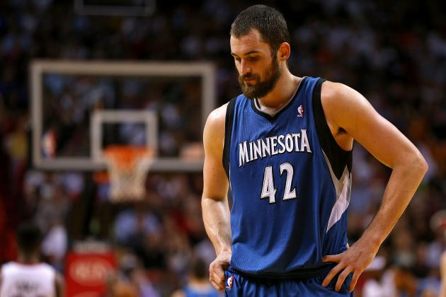 Timberwolves' Kevin Love Reportedly Out for the Season, Will Have Knee Surgery