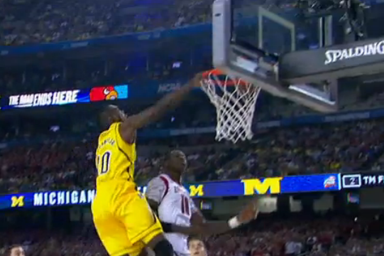 Dunk by Hardaway Jr.