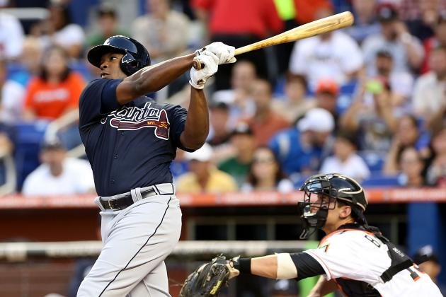 Upton (4-for-4, HR) and Maholm Lead Braves Past Marlins 2-0