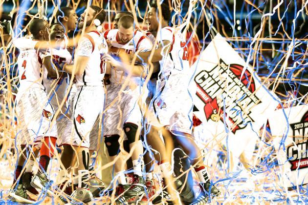 Louisville Beats Michigan, 82-76, to Win National Championship