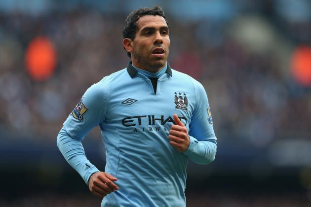 Manchester United vs. Manchester City: Win Shows Carlos Tevez Isn't Safe at City