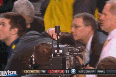 Pitino Scared During Celebration