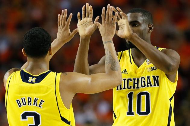 Trey Burke, Tim Hardaway Jr., Mitch McGary Refuse to Discuss Future Plans