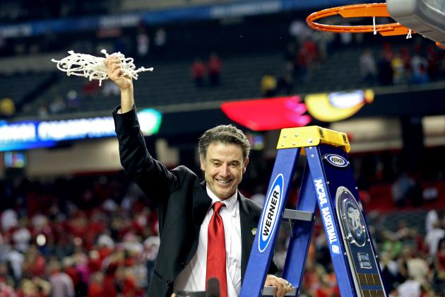 Does 2013 Title Mean Rick Pitino Has Been Better at Louisville Than at Kentucky?