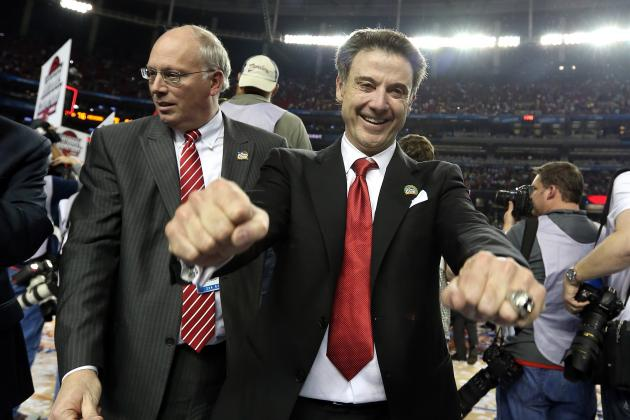 Rick Pitino Says He's Getting a Tattoo After Louisville Wins National Title