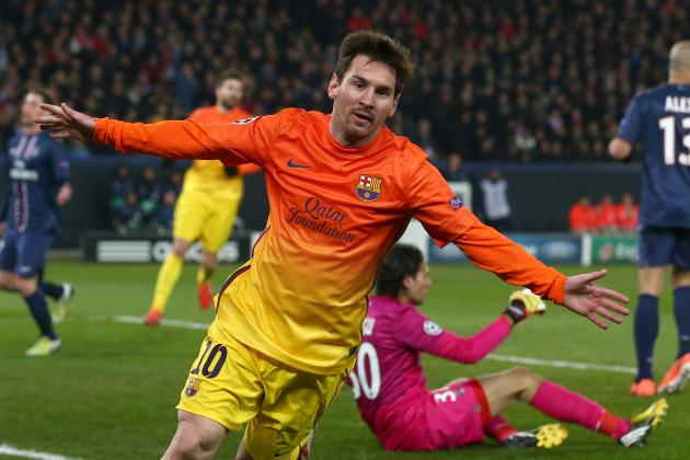 Messi Could Face PSG; Becks to Start