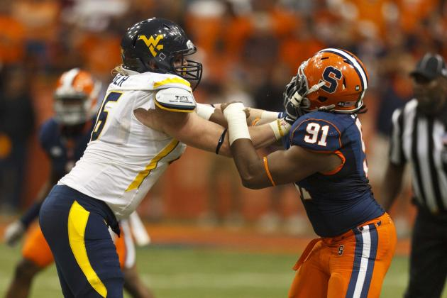 WVU Offensive Line Working Through Injuries