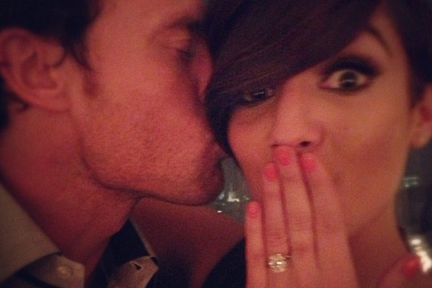 Former England Star Bridge Gets Engaged to Pop Star Girlfriend Frankie Sandford