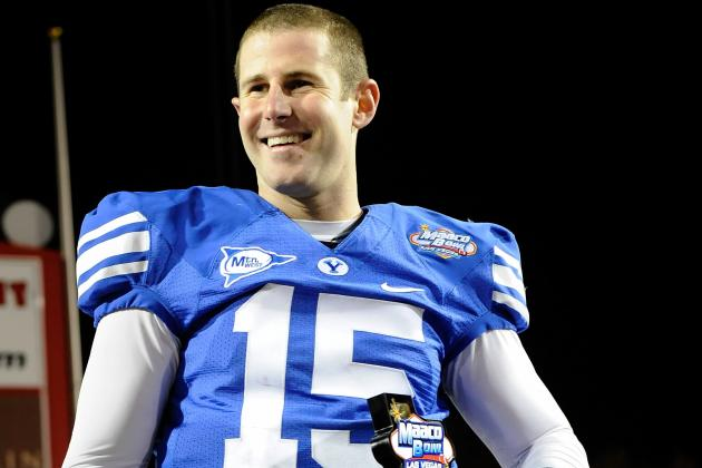 Former BYU QB Max Hall Signs with Winnipeg Blue Bombers