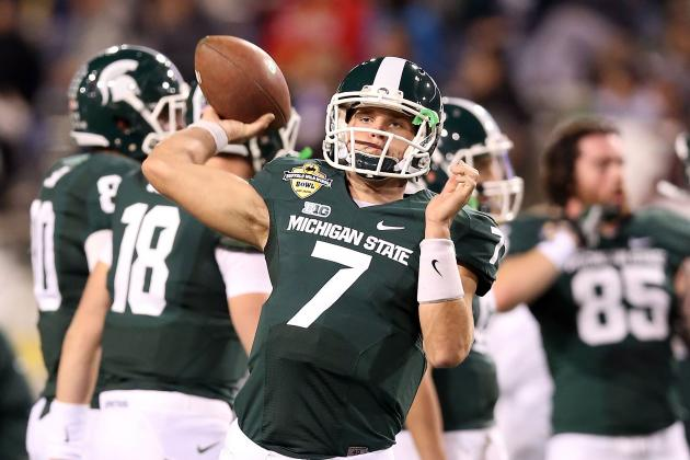 Spartan Freshman O'Connor Making Most of Spring Practice