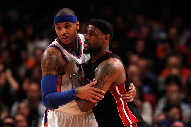 Carmelo Anthony Passes LeBron for Top Selling Jersey