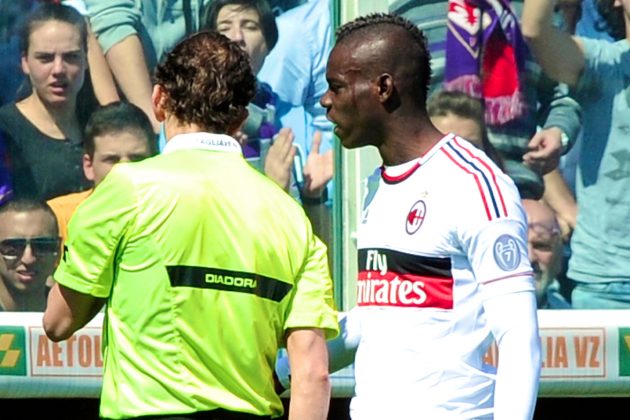 Mario Balotelli Reportedly Suspended 3 Games for Cursing at Referee
