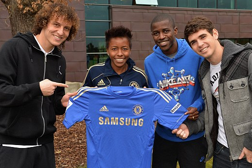 Luiz, Oscar, Ramires And... Ester! Meet Chelsea's New Brazilian Midfielder