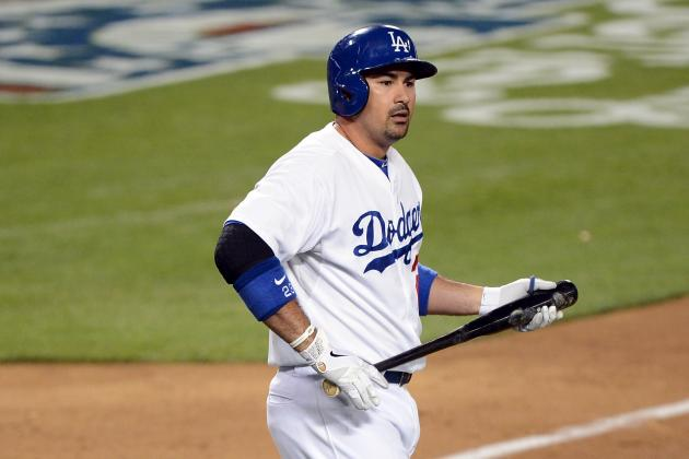 Dodgers' Adrian Gonzalez Improves Against Left-Handed Pitchers