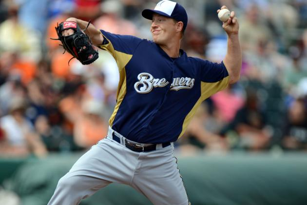 Brewers Place Chris Narveson on Disabled List