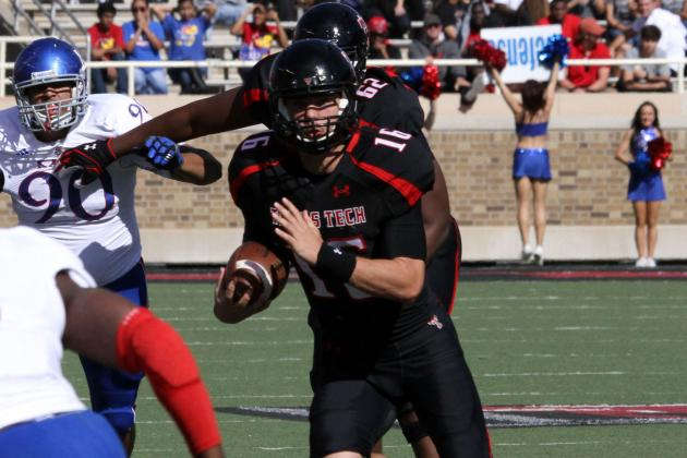 Brewer Leads Six Scoring Drives in Red Raiders' Midland Scrimmage