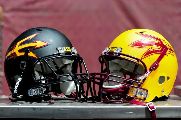 Does Arizona State Have New Pitchfork Helmets Waiting for 2013?