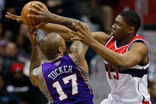 Phoenix Suns Forward P.J. Tucker Earns Dan Majerle Hustle Award