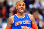 Carmelo Passes LeBron for NBA's Top-Selling Jersey