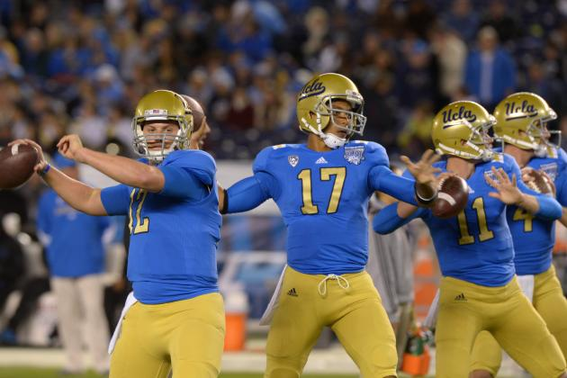 With Its Starting Quarterback Set, UCLA Looks at the Backup Spot