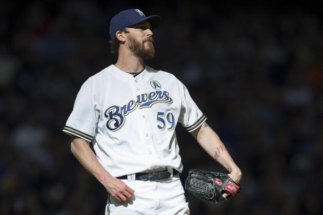 Brewers Pull John Axford from Closing Spot