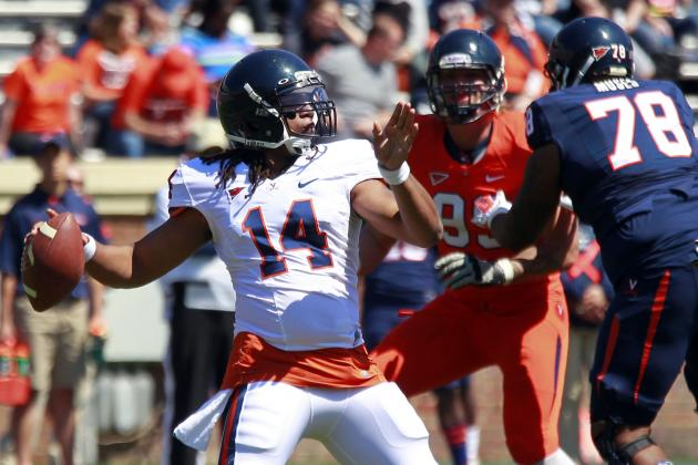 U.Va. Continues Search for Starting Quarterback