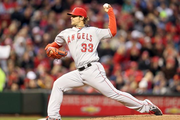 Angels Pitcher C.J. Wilson Hasn't Eradicated Erratic Tendencies