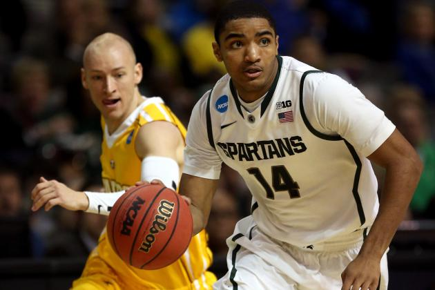 Michigan State Freshman Gary Harris Honored by Basketball Times