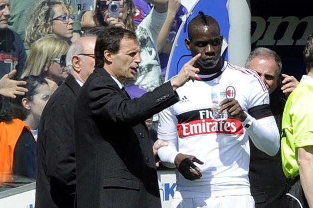 AC Milan Lodge Appeal over Mario Balotelli Ban